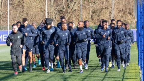 Niort – Paris FC : Le groupe parisien