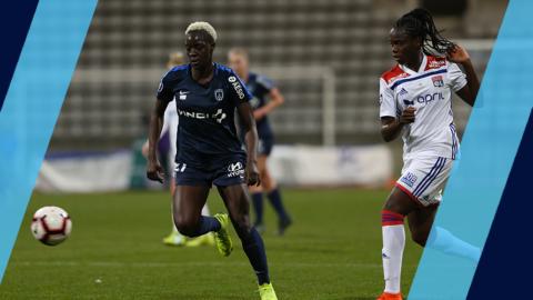 Paris FC – Lyon (1-4) : Stoppées dans leur élan