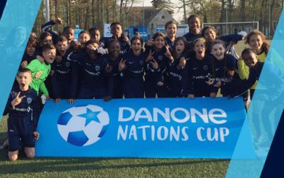 Nouveau double succès à la Danone Nations Cup