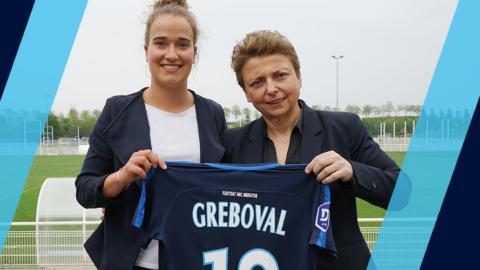 Thea Greboval deux ans de plus au Paris FC