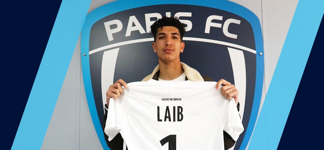 Yannis Laib signe un contrat de stagiaire professionnel