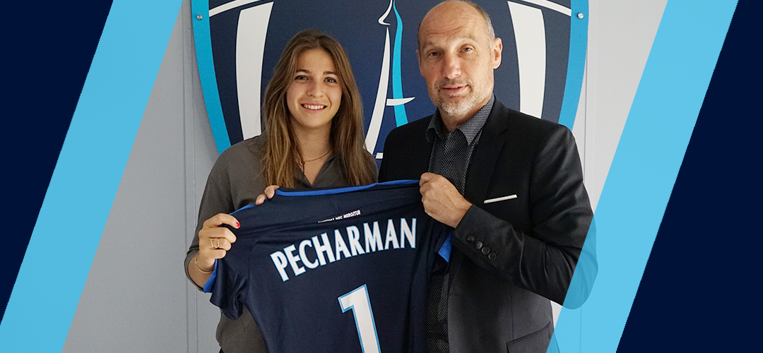 Camille Pecharman prolonge jusqu'en 2021