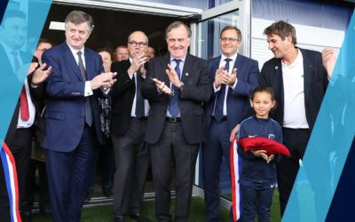 Le Groupe ADP – Centre d'entraînement Paris FC inauguré