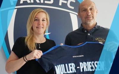 Marith Müller-Priessen signe au Paris FC