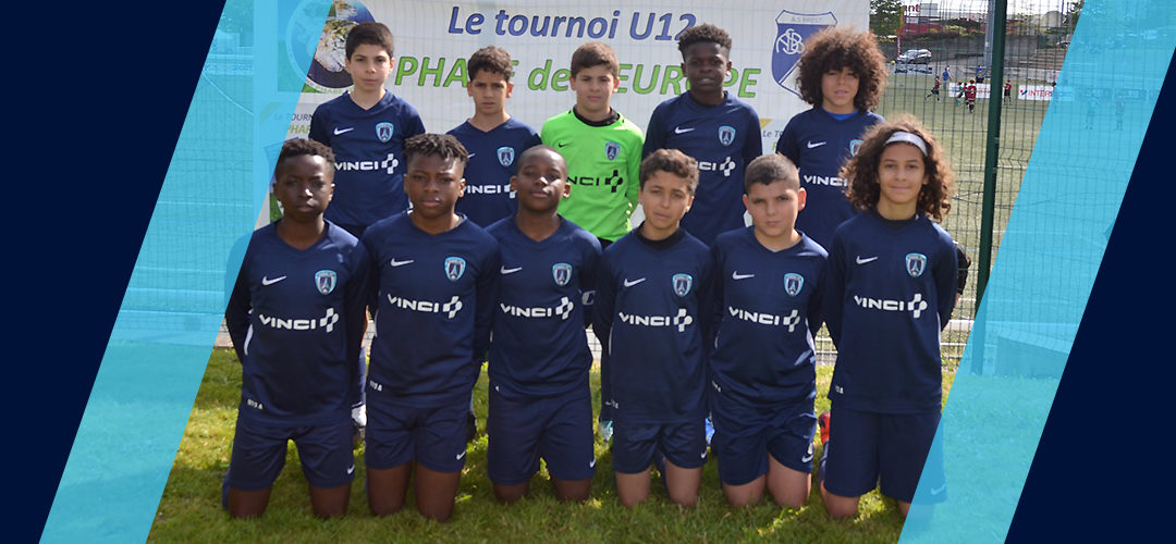 Les U12 remportent le tournoi Phare de l'Europe