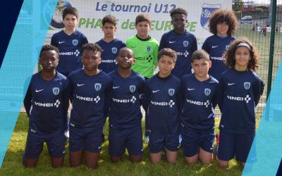 Les U12 remportent le tournoi Phare de l'Europe