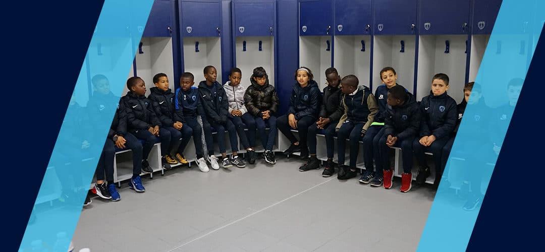 La préformation en visite au Groupe ADP – Centre d'entrainement Paris FC