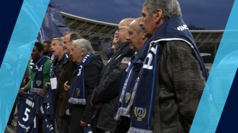 Des anciens joueurs honorés au Stade Charléty