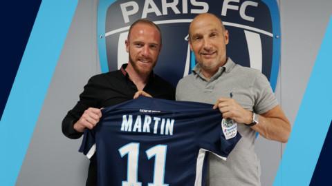 Florian Martin rejoint le Paris FC
