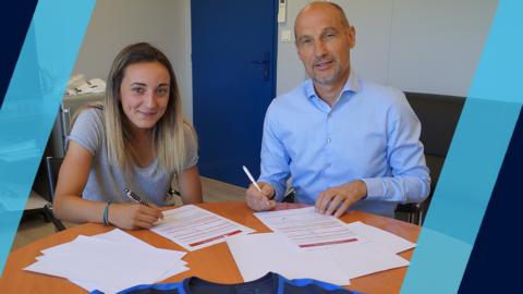 Alice Benoit prolonge au Paris FC