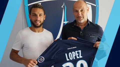 Julien Lopez au Paris FC jusqu'en 2022