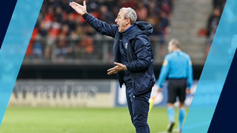 Mecha Bazdarevic et son staff prolongent jusqu'en 2021