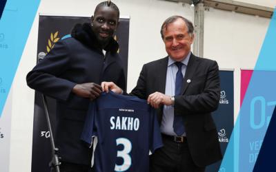 Gagnez le maillot de Mamadou Sakho sur l'appli Paris FC