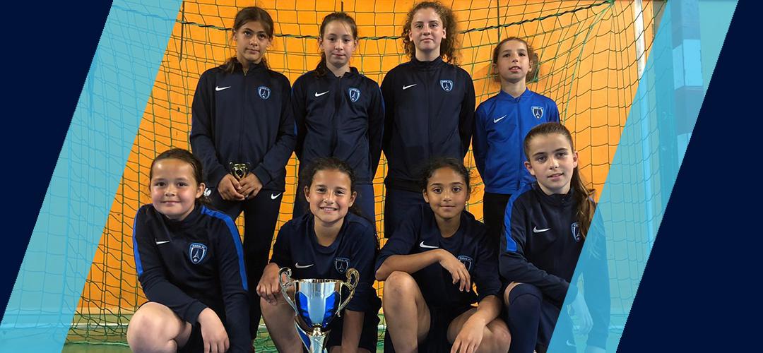 Féminines : Les U11 et U13 remportent la Coupe du Val-de-Marne