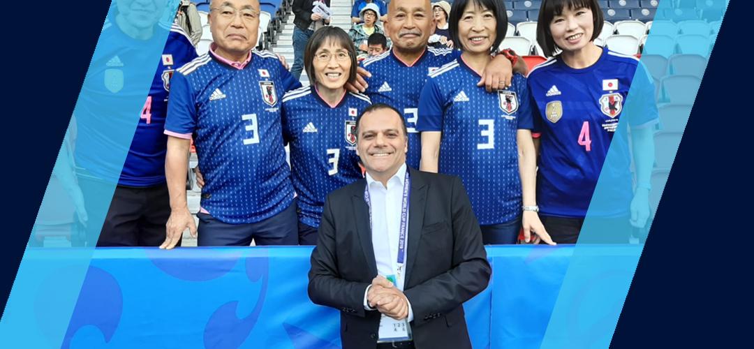 Notre speaker à la Coupe du monde féminine