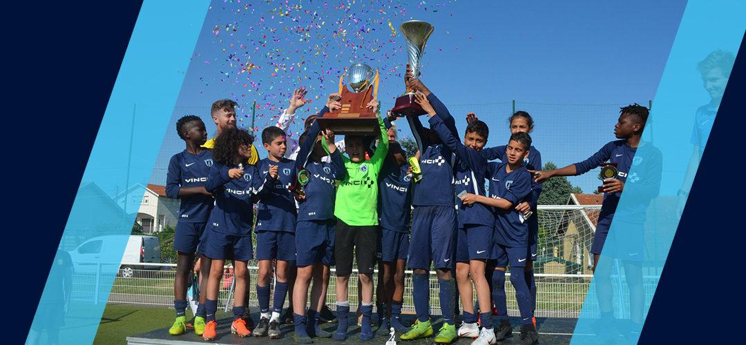 Les U12 remportent le tournoi de Saint-Priest