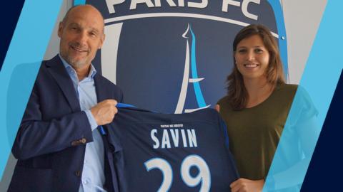 Claire Savin s'engage avec le Paris FC