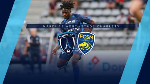 Paris FC – FC Sochaux M. : Le groupe parisien