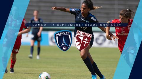 Paris FC – FC Metz, à Charléty le 14 septembre