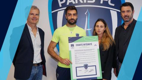 Le Paris FC signataire de la charte d'intégrité