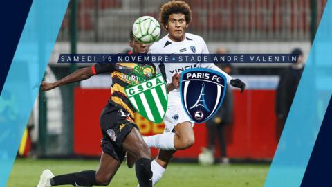 CSO Amnéville – Paris FC : Le groupe parisien