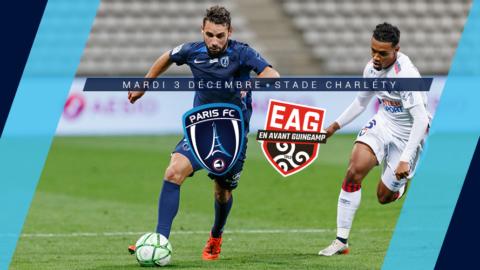 Paris FC – EA Guingamp : Le groupe parisien