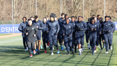 Paris FC – Rodez : Le groupe parisien