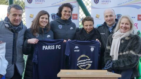 La signature du partenariat avec Championnet Sports en images