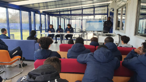 Un media-training pour nos U16