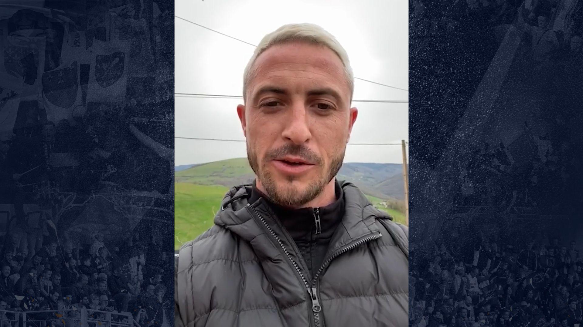 Le message de Romain Armand aux fans du Paris FC