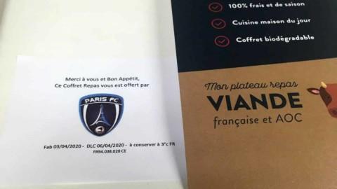 Le Paris FC au soutien de l'APHP