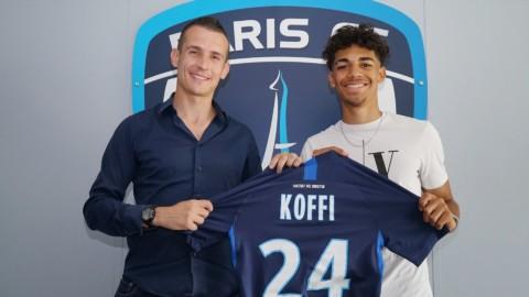 Patrick Koffi signe son premier contrat professionnel