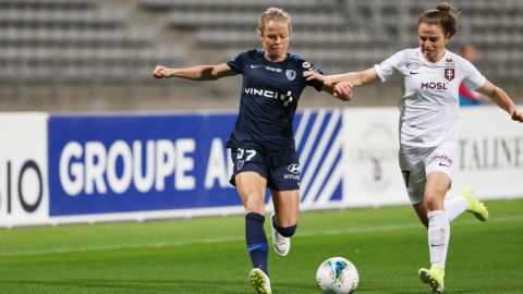 Julie Soyer un an de plus au Paris FC