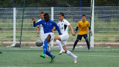 Anis Fatahine en équipe de France U16
