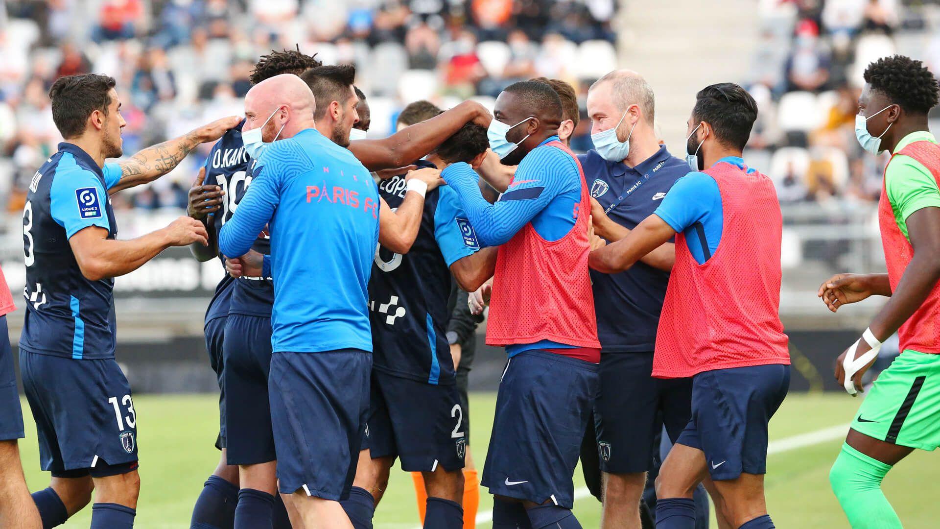 Paris FC – Nancy : le groupe parisien