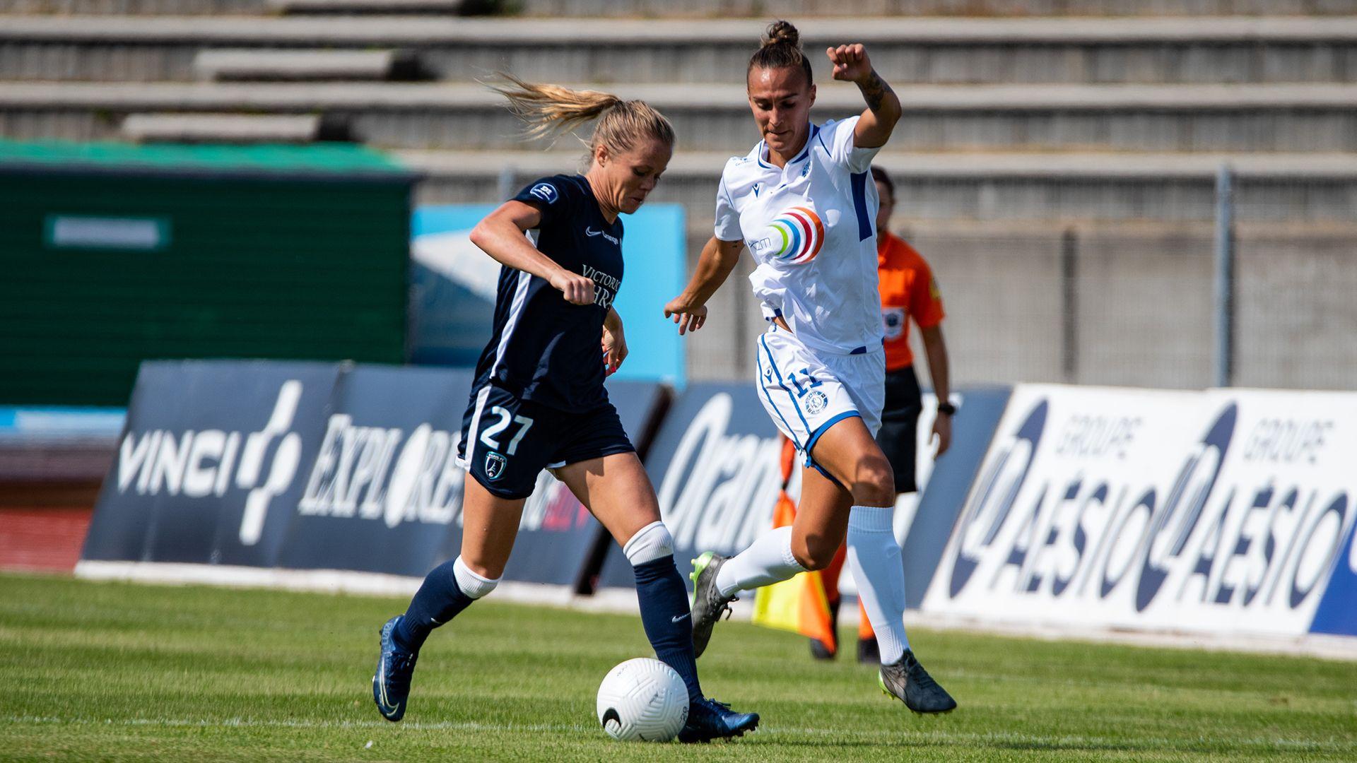 Paris FC – ASJ Soyaux [2-0] : Première enclenchée !