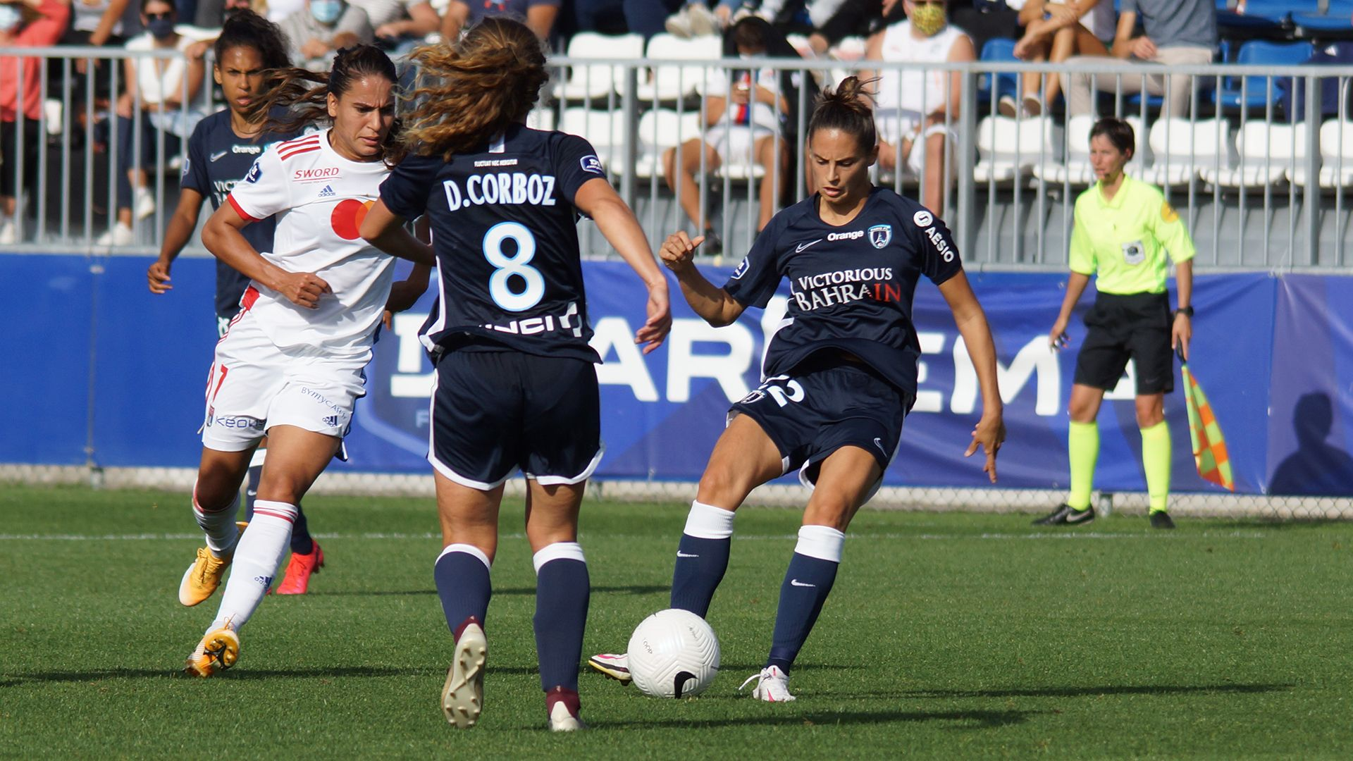 O. Lyonnais – Paris FC : l'album photos