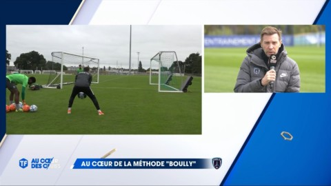 Mickaël Boully explique sa méthode sur Téléfoot
